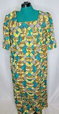 African Traditional Handmade Authentic Graphic Dress (Size: Free)