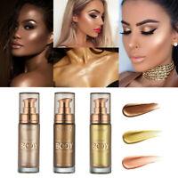 PHOERA Body Luminizer Cream Face Body Shimmer Liquid Highlighter Brighten NEW