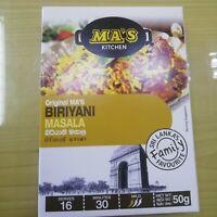 Indian Biryani Masala Curry Powder Sri Lanka 50g Kitchen Food Spices Biriyani