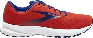 Brooks Launch Running Shoes Mens Neutral Light Race Trainers Red UK 8 EUR 42.5