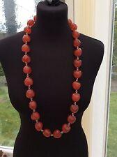 Heart Lucite Costume Necklaces & Pendants
