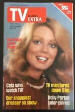 TV RADIO EXTRA Vintage  Magazine 1981 No. 35 DOLLY PARTON PIN-UP