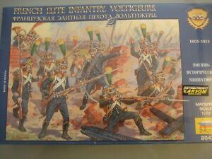 Zvezda figuren 1:72 French Elite Infantry Voltigeurs Nr. 8042 Napoleon