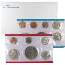 1973 U.S. Mint Set Uncirculated Original Government Packaging OGP Collectible