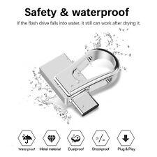 32G 64G USB 3.0 Dual Type-C OTG Flash Drive Waterproof Metal Memory Stick Thumb