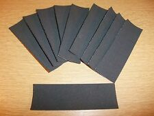 10 x FINGERBOARD / TECH DECK UNCUT GRIPTAPE / RIPTAPE PACK - WOODEN DECK TUNING