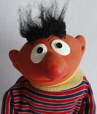 Classic Vintage 1973 Child Guidance Sesame Street Ernie Rubber Cloth Puppet Larg