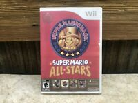 Super Mario All-Stars (Nintendo Wii, 2010) **DISC ONLY READ*** TESTED #3