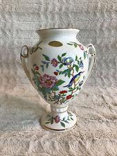 "Vintage Aynsley Pembroke Fine Bone China Large Vase 8 1/2"" Tall - No Lid"