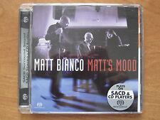 MATT BIANCO - MATT'S MOOD  -  SACD  5.1 surround hybrid