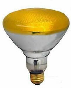 REPLACEMENT BULB FOR SLI SYLVANIA LIGHTING 100BR38/BUG/YELLOW 100W 120V