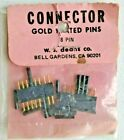NOS Vintage Deans 8 Pin Connector Pair WSD1008