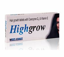 Highgrow Hair Supplement (Biotin, CoQ-10 & Vitamin E) For Hair Growth,10 tablets