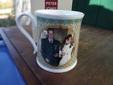 2008 Prince William Gets his Wings Aynsley Tankard Kate's first photo on mug