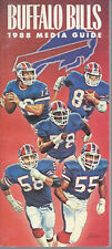 1988 Buffalo Bills Press Media Guide