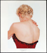MADONNA POSTER PAGE . LIKE A VIRGIN WHO'S THAT GIRL . T114