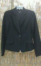 Zinc brand women black jacket size Medium