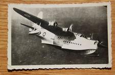 Altes Foto Flugzeug Flugboot 30iger Jahre