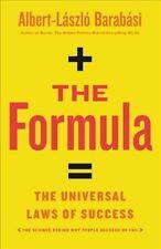 Formula : The Universal Laws of Success, Hardcover by Barabasi, Albert-Laszlo...