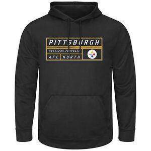 Pittsburgh Steelers MENS Sweatshirt Startling Success Pullover Hoody by Majestic