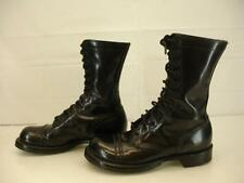 Corcoran USA 1500 Black Leather Military Combat Cap Toe Jump Boots mens 6.5 E W