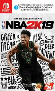 NBA 2K19 Nintendo Switch Games Japanese/English/French/Other Tracking USED
