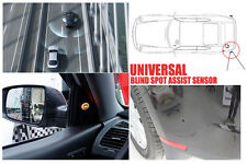 Universal Blind Spot Assist Warning Sensor Buzzer Light WHITE For KIA Hyundai