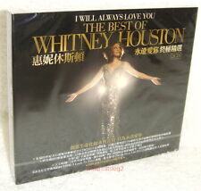 Whitney Houston I Will Always Love You: The Best Of Taiwan 2-CD+Poster w/BOX