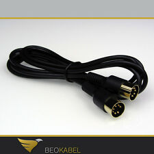 (11,06€/m) Datalink Kabel 1,8m für B&O BANG & OLUFSEN Beocenter Beocord Beogram