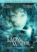 Lady in the Water (DVD, 2006, Full Screen Edition) - Paul Giamatti, Bryce Howard