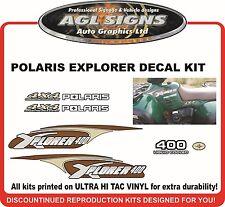 POLARIS XPLORER 400 4X4 Decal kit  2000 2001 reproductions
