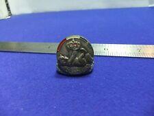 vtg badge dutch souvenir crown baby royal birth 1930s 40s ? netherlands