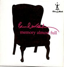 PAUL McCARTNEY MEMORY ALMOST FULL MAIL ON SUNDAY PROMO CD