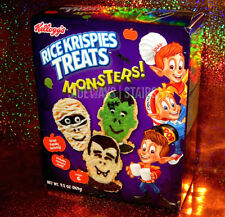 RICE KRISPIES TREATS MONSTERS KIT W/ MOLD Halloween treat monster mummy vampire