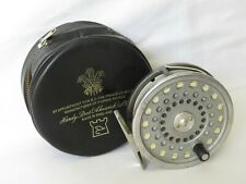 HARDY MARQUIS #7 TROUT REEL,  AND IN  HARDY PADDED  ZIPPED POUCH