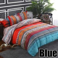 Bedding Set Duvet Cover Pillowcases Quilt Bed Cover Bohemian Mandala King Queen