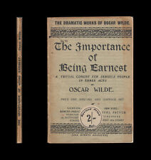 Oscar Wilde  THE IMPORTANCE OF BEING EARNEST   Lena Ashwell Once-a-Week Players