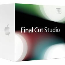 Apple Final Cut Studio 3: Includes Final Cut Pro 7 and all content