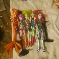 Monster High Dolls Lot 5
