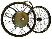 QS MOTOR 205 V3 50h 5000w 10kw+pick power electric e bike moto wheel set kit
