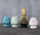 1x Ceramic Japanese Green Tea Ware Porcelain Chasen Holder Matcha Whisk Stand