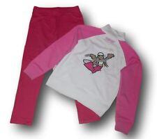 Lotto set stock pantaloni jeggings felpa cotone PRENATAL bimba bambina 8 anni