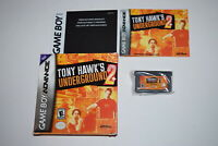 Tony Hawk Underground 2 Nintendo Game Boy Advance Complete in Box