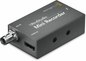 Blackmagic Ultrastudio Mini Recorder SDI/HDMI to Thunderbolt