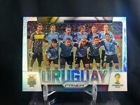 2014 Panini Prizm World Cup URUGUAY Silver Prizm Holo Refractor Team Suarez