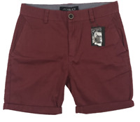 JACK BLACK   Men's Drill Shorts   4 Pockets   Burgundy   BNWT   Size 34