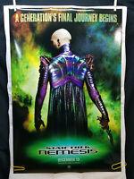 "Star Trek Nemesis - 2 Side Movie Theater Poster 1-sheet (27"" x 40"")"