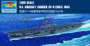 Trumpeter 05602 1/350 Scale U.S. Aircraft Carrier CV-9 Essex model kit