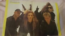 Pete Burns/Dead Or Alive 2 pg.colour pic-Smash Hits mag(Jun.21-Jul.4 '84 issue)