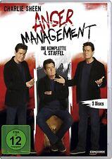 Anger Management , Charlie Sheen  season 4 DVD Region 2/UK TV Series